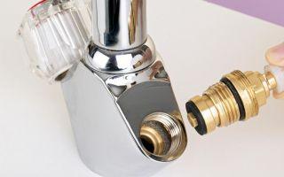 Кран букса в ванной – устройство, выбор, замена