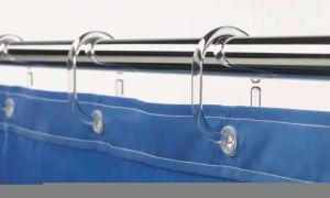 Как повесить штору в ванной