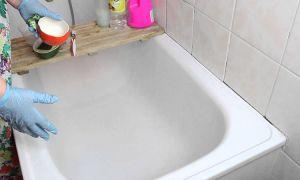 Как отмыть чугунную ванну, не повредить эмаль – рекомендации производителей