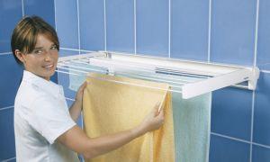 Как выбрать сушилку для белья в ванную комнату?