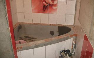 Ванна из кирпича своими руками – кладка, гидроизоляция и облицовка