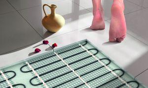 Теплый пол в ванной комнате своими руками