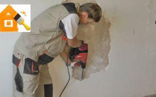 Как очистить краску со стены ванной комнаты своими руками