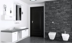 Как поставить двери в ванную и туалет своими руками