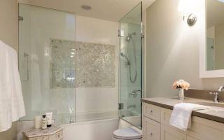 Какие бывают ширмы для ванной?