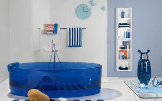 Установка стеклянной ванны – оригинальный ход в создании интерьера