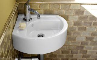 Как выбрать маленькую раковину в ванную комнату?