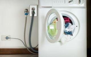 Как устроен сифон для стиральной машины с обратным клапаном?