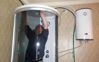 Как подключить душевую кабину к водопроводу своими руками?