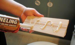 Клей для ПВХ панелей в ванной – чем зафиксировать панели из пластика?