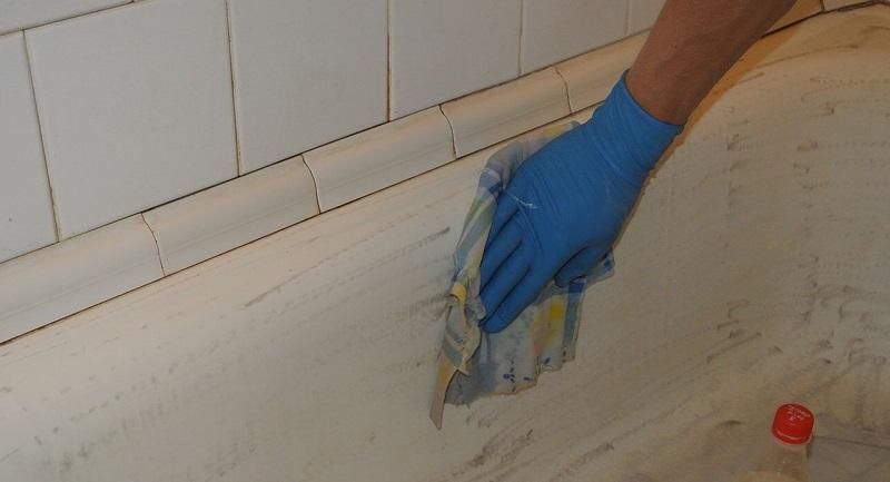 Как правильно покрасить ванну своими руками 17