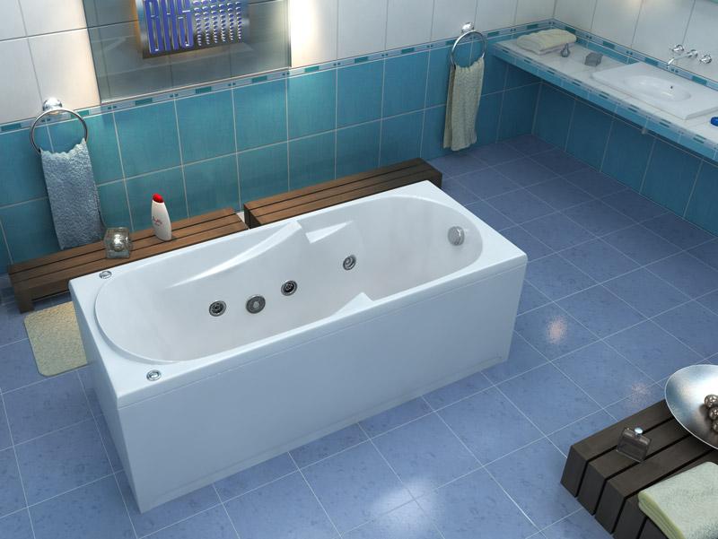 Акриловый экран для ванны 170