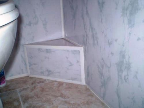 Отделка ванной комнаты пластиковыми панелями своими руками