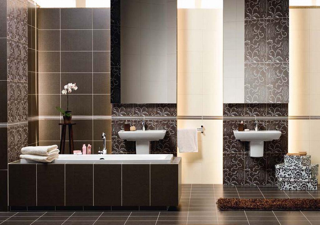 Декор ванной плитки своими руками фото 706