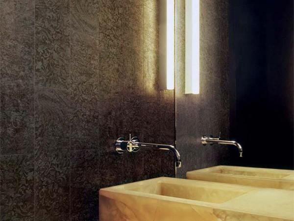 Элегантный стиль плитки в ванной