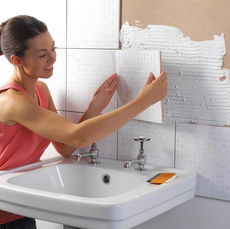 Плитка для ванной комнаты укладка своими руками 62