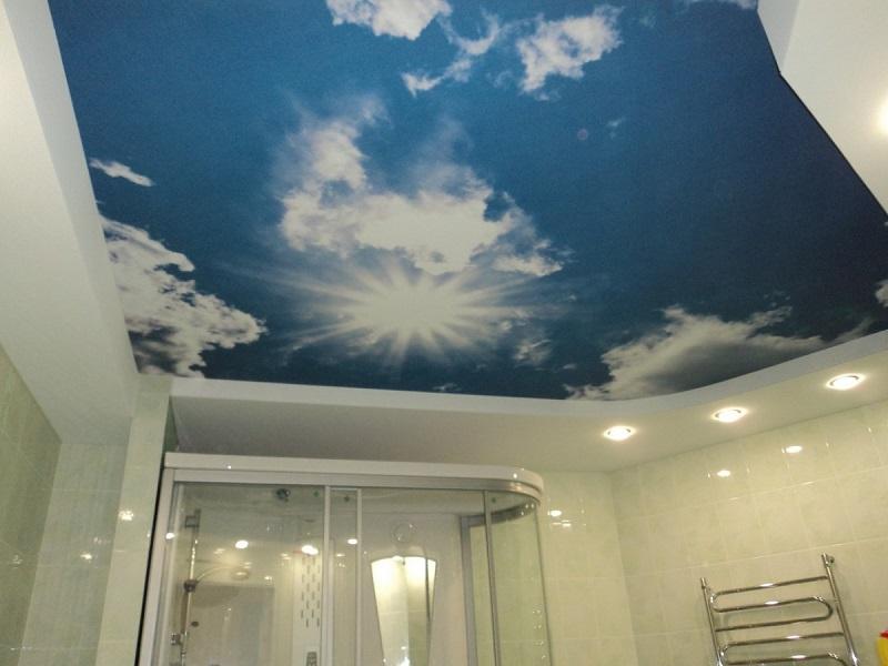 Тканевые натяжные потолки: цены, фото, монтаж