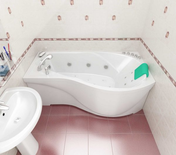 Готовый экран под ванну