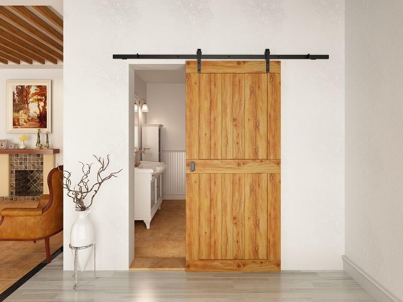 Раздвижные двери для сарая