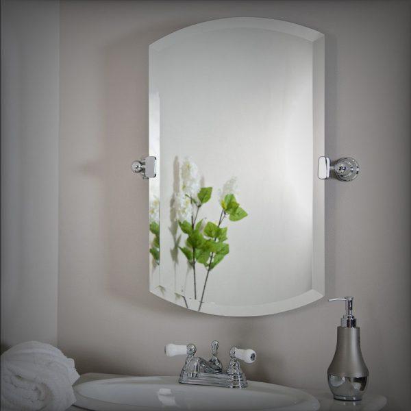 Наклейка на зеркале