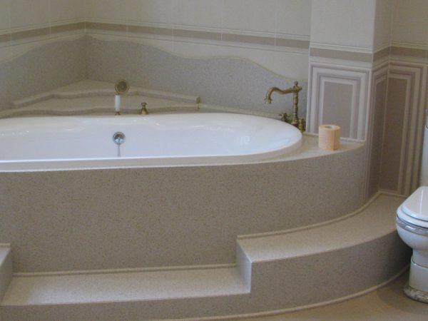 Подиум под ванну