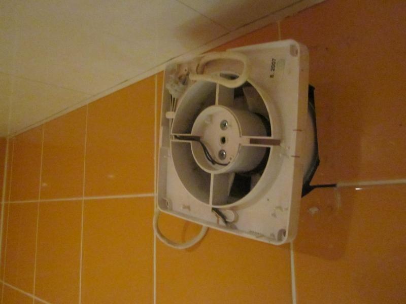 Монтаж вентилятора в ванной своими руками 158