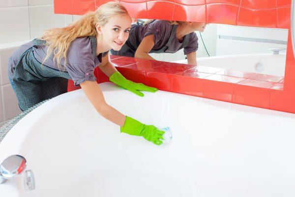 Как и чем чистить акриловую ванну в домашних условиях