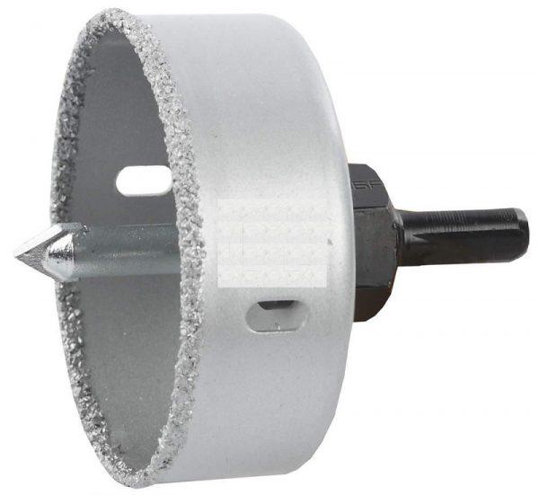 Коронка, для сверления отверстий большего диаметра в кафеле
