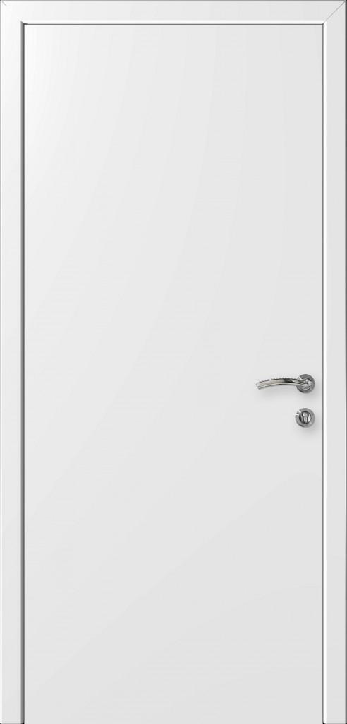 Пластиковая дверь в ванную справляется  со своей ролью и справляется с влагой