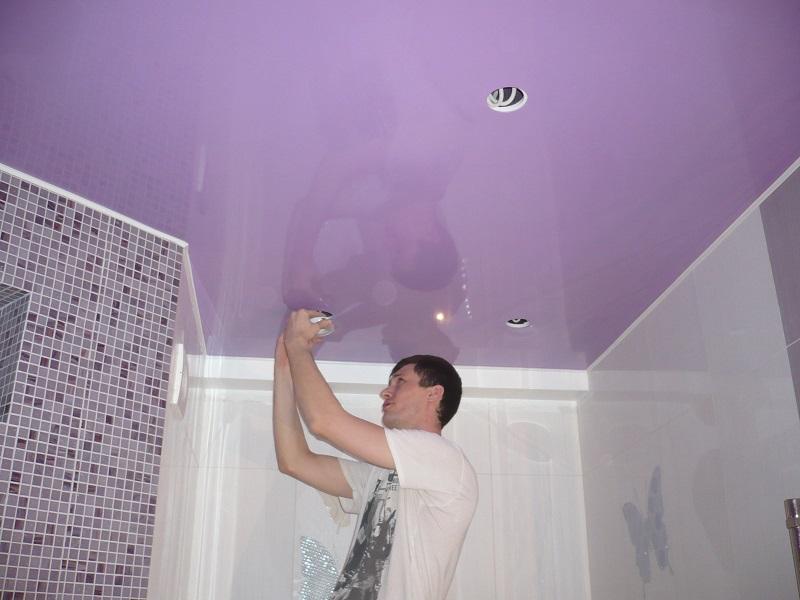 Сделать потолок в комнате своими руками