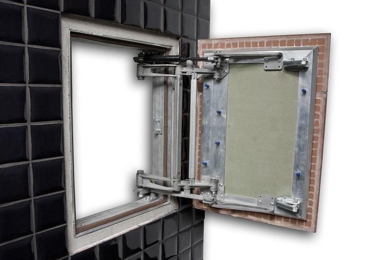 Как сделать ревизионный люк «невидимку» (дверку) под плитку в 983