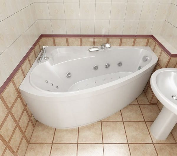 Очень комфортное пребывание в такой ванной