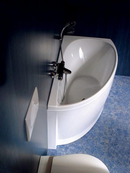 Эксклюзивный дизайн угловой ванны