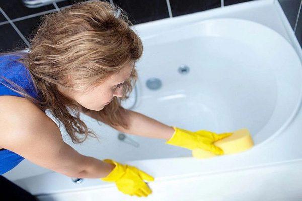 Впитывающая влагу губка, для сушки ванны