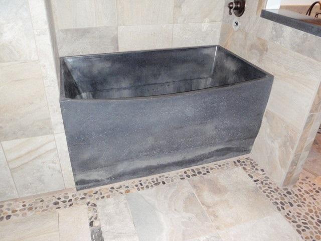 Бетонная ванная своими руками