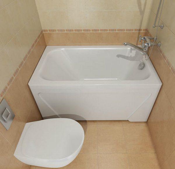 Прямая ванна
