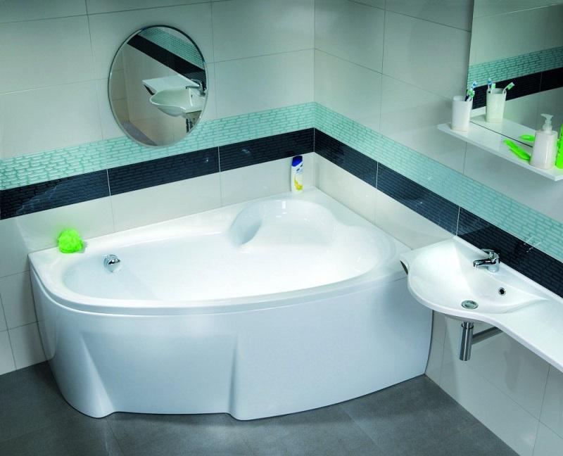 Варианты дизайна ванной 6 кв. м., подборки фото интерьеров и
