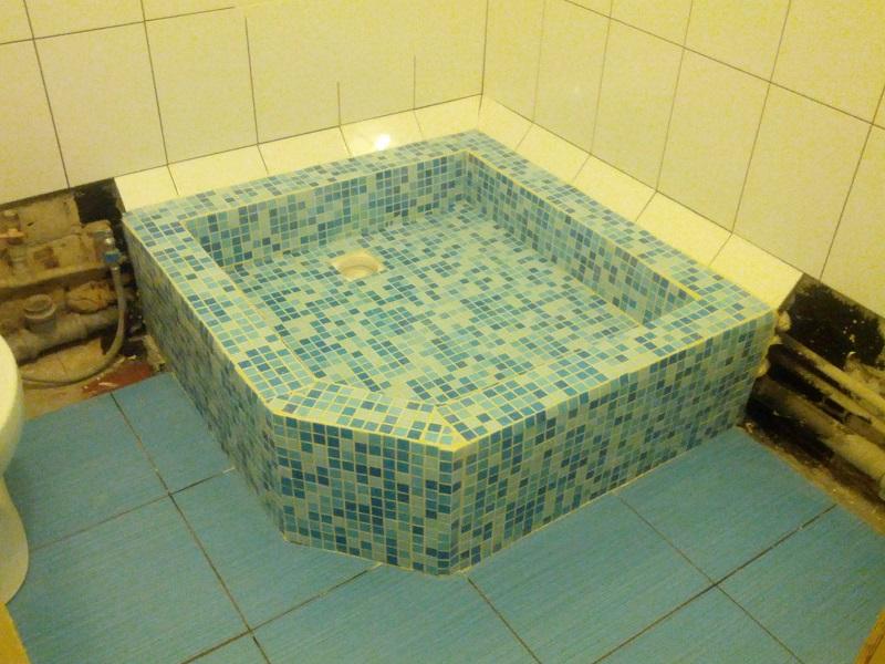 Фото ванной сделанной своими руками