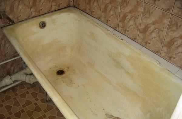 Шероховатость ванны