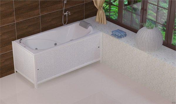 Глухой экран под ванну