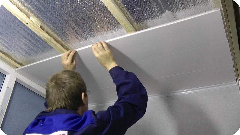Пластиковые панели на потолок своими руками видео - Pizza e Birra