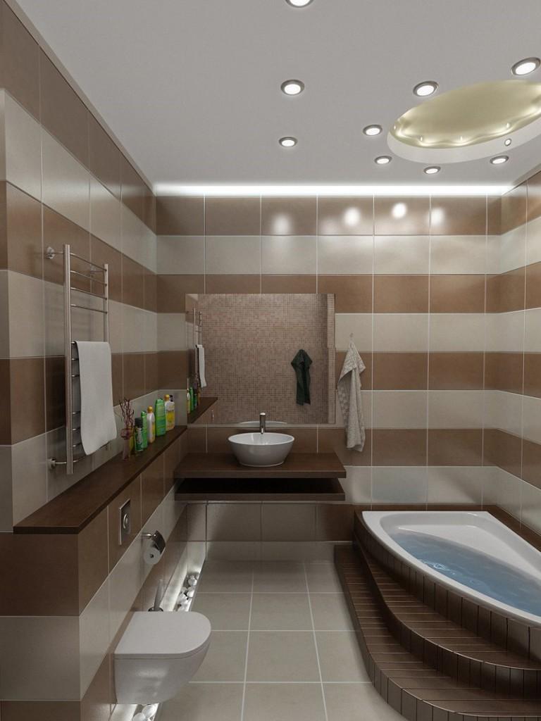 Ванна с туалетом 9 кв.м дизайн