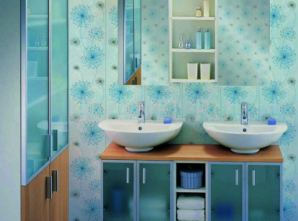 Ванная комната отделанная панелями