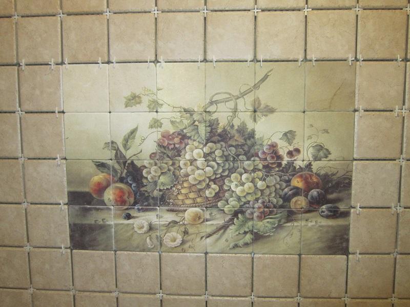 фото ванны для плитки из панно