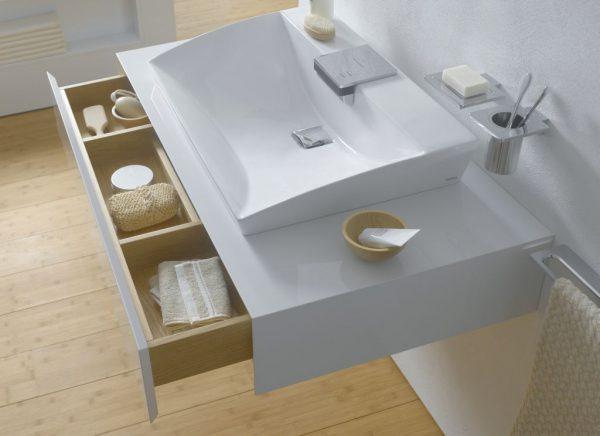 Furniture like bathroom vanities