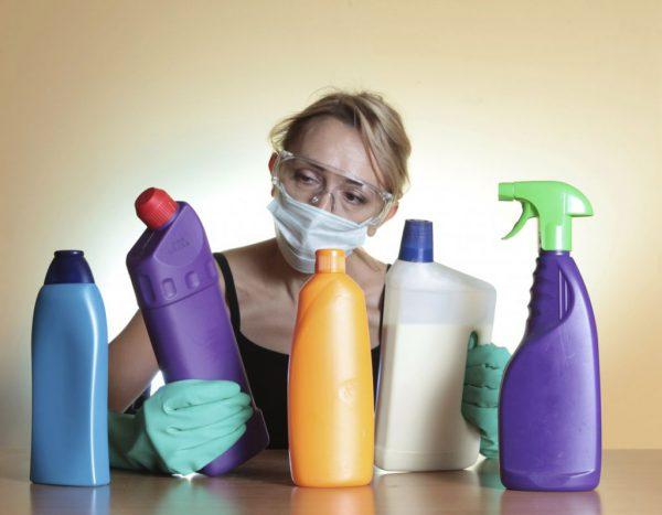 Очистка химией
