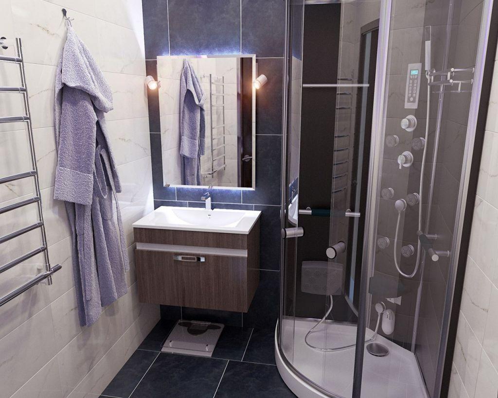 дизайн ванной комнаты с душевой кабиной фото идеи интерьера и