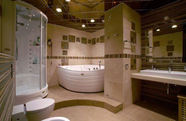 Совмещенная ванна с туалетом