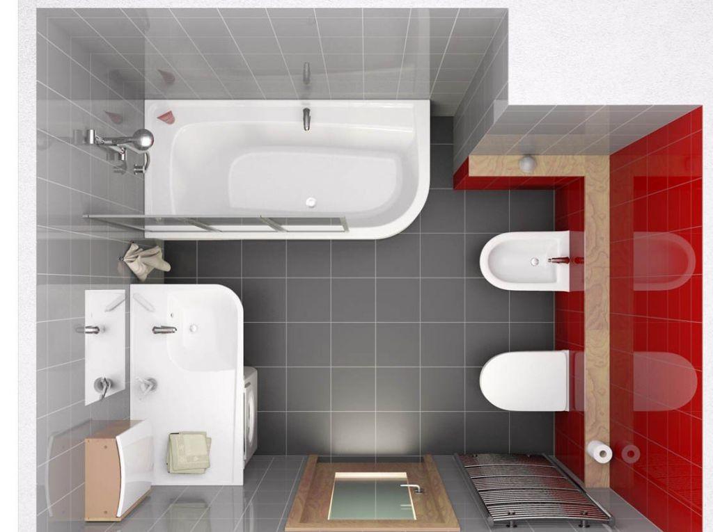 Дизайн ванной комнаты 36 квм