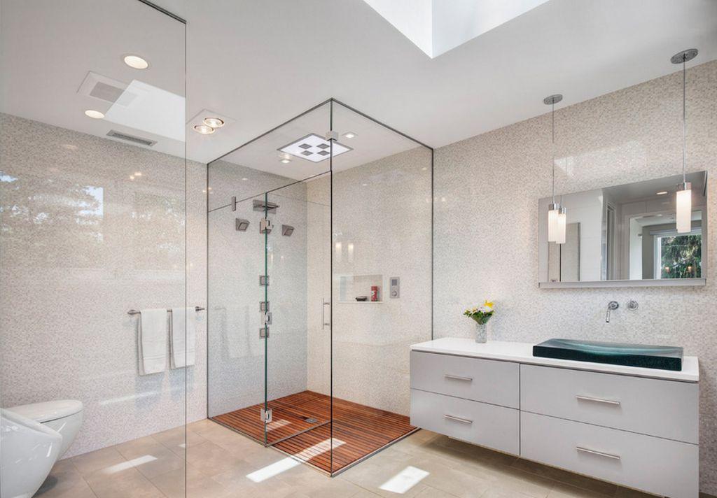 Ванная комната без поддона смеситель с фотоэлементами купить в перми
